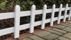 安徽pvc草坪护栏 绿化护栏
