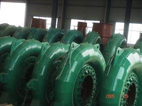 高水头混流式水轮发电机组