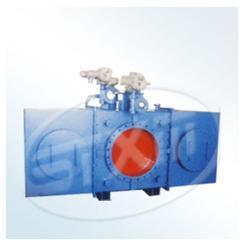 F941X电动封闭式插板阀盲板阀
