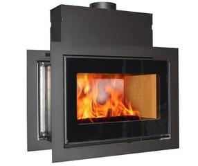 丹麦SCAN真火燃木壁炉