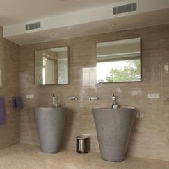 花岗岩浴室一体盆QD-VANITY 2013002