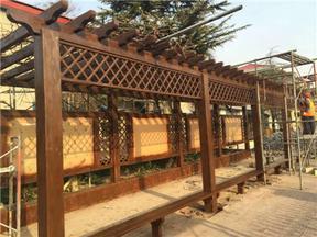 郑州凉亭设计公司 长廊设计