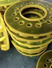 专业定制橡胶浮选机叶轮盖板 浮选机配件聚氨酯叶轮盖板