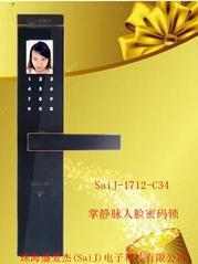 1712-C34掌静脉人脸密码锁