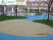 杭州彩色透水地坪参数