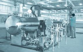 智能型管网接力升压(无负压)供水设备