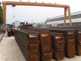 出租钢板桩 拉森钢板桩 槽型钢板桩 热轧钢板桩