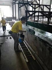 硫酸池乙烯基重防腐工程