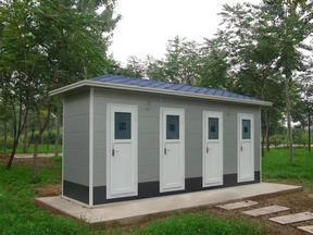 青岛整体卫生间,四代环保移动厕所发展完善过程之概述!