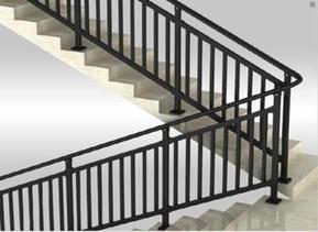 楼梯扶手、锌钢型材、锌钢产品系列