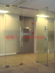 不锈钢玻璃隔断门,地弹簧门