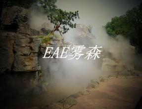 EAE人造雾设备应用假山