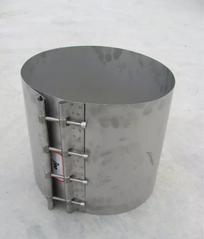 青岛天智达塑钢缠绕管用304不锈钢卡箍