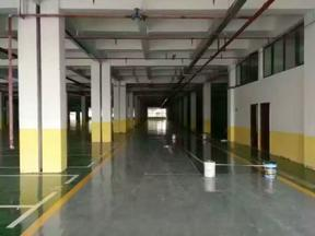 停车场环氧砂浆耐磨地坪工程