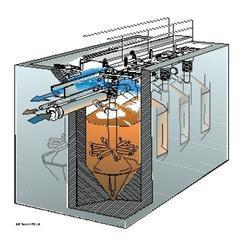 供应连续流砂过滤器
