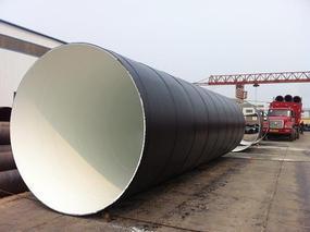 3PE(三层聚乙烯)环氧粉末防腐螺旋钢管