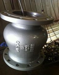 GLH41W不锈钢贯流式止回阀