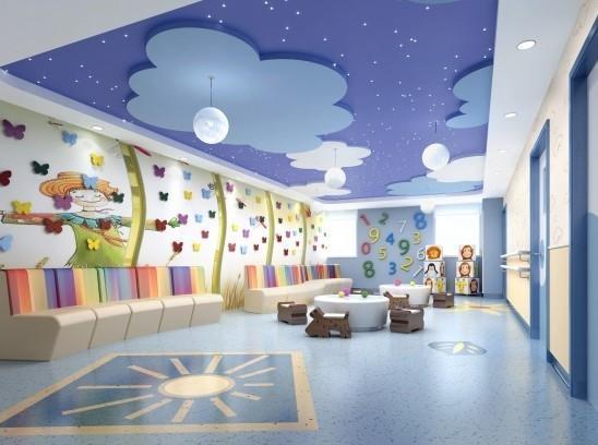 儿童房星空顶,幼儿园星空顶图片