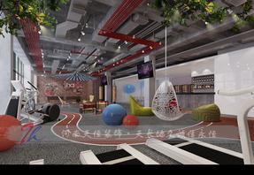 高档的郑州瑜伽馆装修设计风格,郑州最好的瑜伽馆装修设计公司