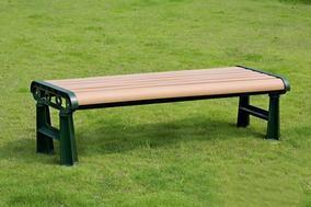 户外塑木休闲椅
