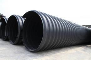 HDPE钢带增强波纹管(DN500-DN2200mm)