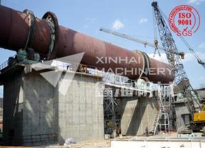 郑州鑫海陶粒砂回转窑性能特点及工艺流程