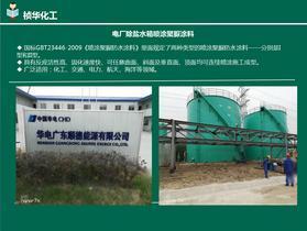 华电广东顺德能源公司电厂除盐水箱聚脲防腐