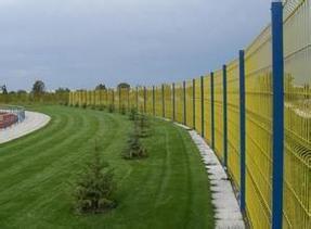 桃型柱围栏网