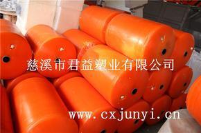 水上浮筒,塑料浮筒,直径50高度75公分,浮筒通孔5cm