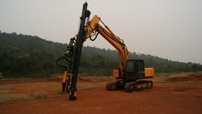 挖掘机改钻机厂家