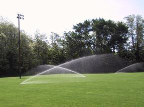 I-25运动场灌溉地埋旋转喷头