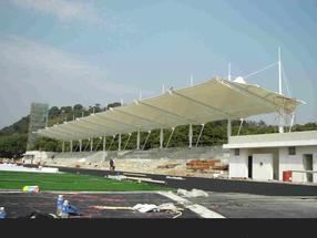 膜结构看台、张拉膜看台、体育场看台罩棚