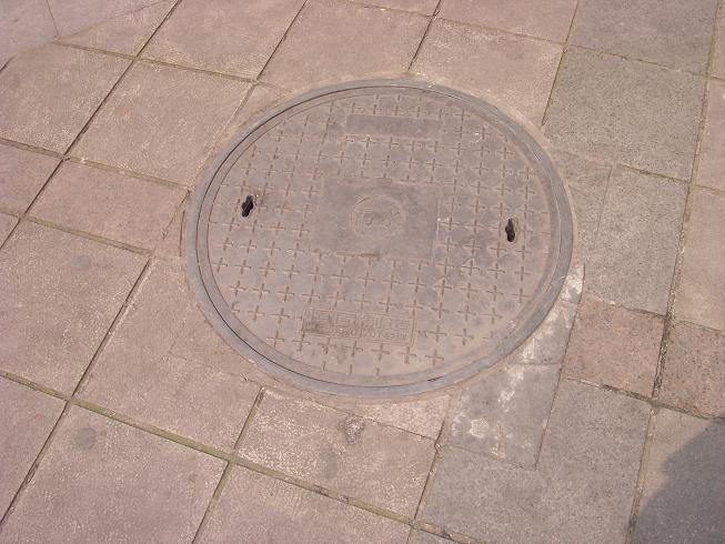 井盖设计手绘图a4纸