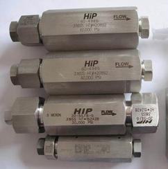美国HIP超高压(球阀)单向阀,超高压手动泵,高压压力表
