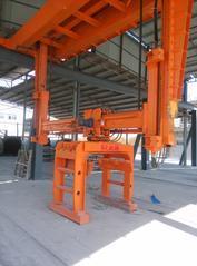 加气混凝土釜后包装线掰板机旋转夹具并垛夹具