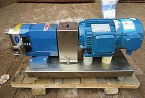恒运3RP高粘度凸轮泵输送高粘度液体