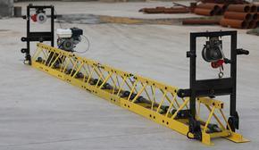 高强度全钢制框架式整平机 混凝土水泥路面平铺机 振捣梁价格