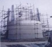 电厂锅炉炉架维修