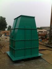 供应订做电厂用污泥斗\带式压滤机配套\板框脱水机\离心脱水机配套污泥斗