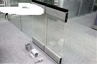 西安厂家会议室透明玻璃活动隔断