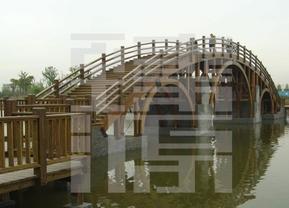 上海臻源提供木结构桥梁设计建造施工。