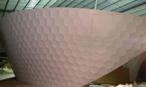 大型泡沫雕塑景观喷涂聚脲涂料