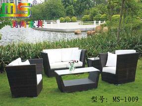 MS-1009户外家具,编藤沙发