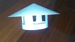 PVC塑料防雨帽 屋面管帽