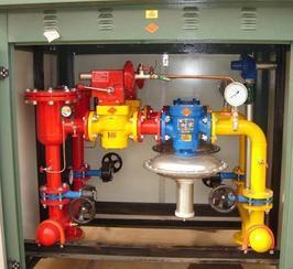 润丰燃气调压柜如何置换通气