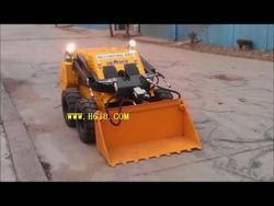 小型遥控滑移装载机--多功能滑移清渣机