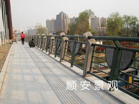 顺安景观材料铸造石桥梁栏杆生产、销售