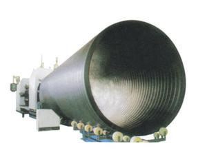 缠绕中空波纹管生产线