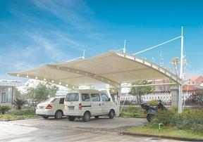 膜结构车篷 景观篷 定做报价 膜结构车棚