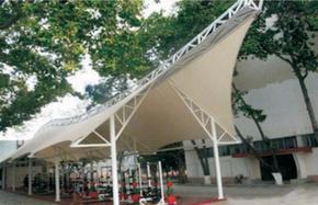 江苏膜结构停车棚景观棚体育看台棚收费站棚